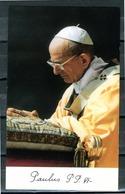 SANTINO - Papa Paolo VI - Santino Con Preghiera Come Da Scansione. - Images Religieuses