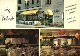 CPSM Grand Format  MARSEILLE  PROMENASE DE LA CORNICHE  KENNEDY  Restaurant Les Embruns Colorisée RV - Endoume, Roucas, Corniche, Plages
