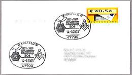 150 Años LOGIA MASONICA - 150 Jahrfeier Johannisloge EOS. Krefeld 2003 - Freemasonry