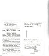 A.DOBBELAERE °OEDELEM 1884 +MELLE 1968 (C.ROELS) - Images Religieuses
