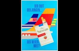 @@@ MAGNET - Der Duft Der Jungen PST Peter Stuyvesant Der Neuen Welt - Reclame