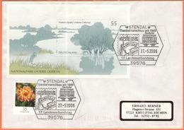 GERMANIA - GERMANY - Deutschland - ALLEMAGNE - BUNDESPOST - 2006 - 55 Blockausgabe: Nationalpark Unteres Odertal + 35 Da - [7] Repubblica Federale