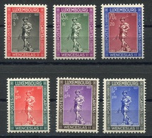 RC 13472 LUXEMBOURG N° 294 / 299 CARITAS 1937 NEUF ** - Neufs
