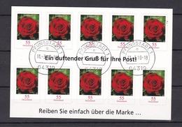 BRD - 2010 - Markenheftchen - Michel Nr. 2675 - Folienblatt 7 - Gest. - [7] Federal Republic