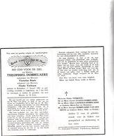 T.DOBBELAERE °KNESSELARE 1882 +LAPSCHURE 1953 (V.BAUTE - E.VERBOUW) - Images Religieuses