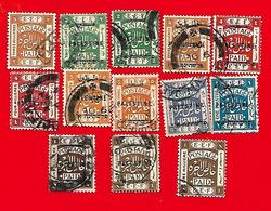 4291  --  PALESTINE - Lot De Timbres Surchargeé  Oblitérés - Palestine