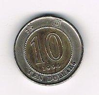// HONG KONG  10 DOLLARS  1994 - Hong Kong