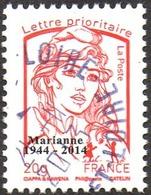 Oblitération Cachet à Date Sur Timbre De France N° 4767_bd - Marianne De La Jeunesse. Prio 20g.offset Surchargé - 2013-... Marianne (Ciappa-Kawena)