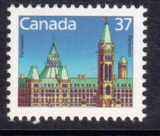 Canada 1985-2000 Definitives 37c CBN Definitive, MNH, SG 1157 - 1952-.... Reign Of Elizabeth II