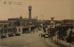 Gent - Gand // Gare Saint Pierre - Fraai Zicht St. Pietersstatie Met Tram 19?? - Gent
