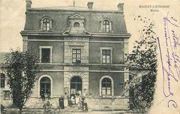 CREUSE  MAGNAT L'ETRANGE  Mairie - Francia