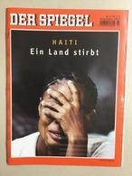 Der Spiegel Nr. 3/2010 Vom 18.01.2010 Haiti - Ein Land Stirbt - Otros