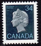 Canada 1985-2000 Definitives 34c QEII Head Definitive, MNH, SG 1161 - 1952-.... Reign Of Elizabeth II