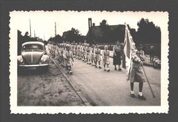 Originele Foto / Photo Originale - Chiro Houthalen - Meulenberg - VW Kever / Coccinelle - 9,4 X 6,1 Cm - 1954 - Cars