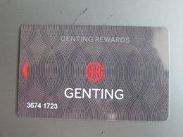 Genting Rewards - Casino Cards