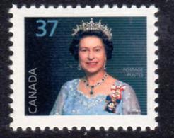 Canada 1985-2000 Definitives 37c QEII Portrait Definitive, MNH, SG 1162a - Unused Stamps