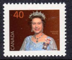 Canada 1985-2000 Definitives 40c QEII Portrait Definitive, MNH, SG 1162d - 1952-.... Reign Of Elizabeth II