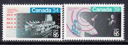 Canada 1986 Expo '86 World Fair Set Of 2, MNH, SG 1192/3 - 1952-.... Reign Of Elizabeth II