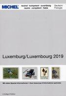 Luxembourg MICHEL/PRIFIX Briefmarken Katalog 2019 New 30€ Spezial ATM MH Dienst Porto Besetzung Deutsch/französisch - Frankrijk
