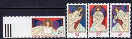 Canada 1986 Christmas Set Of 4, MNH, SG 1218/21 - 1952-.... Reign Of Elizabeth II