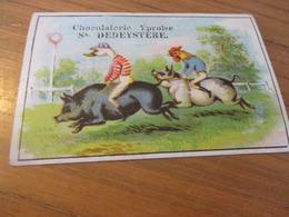 Chromo,Chocolaterie Du Lion De Flandre, Ypres, Place Vandepeereboom 7, Sn Dedeystere - Other