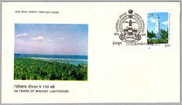 100 Años FARO DE MINICOY - 100 Years Of Minicoy Lighthouse. Bangalore, India, 1985 - Faros