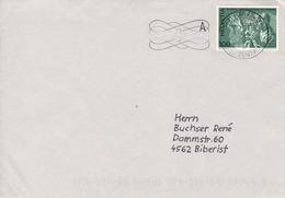 1974 BIT Brief Mit Mi: 107 / Zu: 108. Landvermesser - Service
