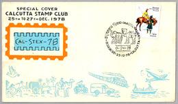 Cal-Stex-78 - Inaugural Day - ELEFANTE - ELEPHANT. Calcutta 1978 - Elefantes