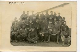 1517. CPA PHOTO GROUPE DE MILITAIRES 139 SUR KEPIS ET COLS TIRAILLEURS SENEGALAIS (139è RIF ?) 1915 - Regimente