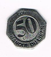//  LIBANON  50  LIVRES  1996 - Libanon
