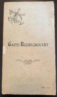 Programme Ancien De La Gaité Rochechouart - Programmes