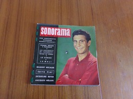""""""" Sonorama """" N° 22, Septembre 1960 L'actualité Sonore - Musique & Instruments"""