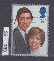 GRANBRETAGNA, 1981Matrimonio Carlo E Diana 14 P Usato - Usati