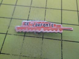 414a PINS PIN'S / Beau Et Rare : Thème MARQUES / METALLURGIE COMITE D'ENTREPRISE LORFONTE - Trademarks