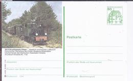 AK-div.26- 193     Bildpostkarte   Bruchhausen Vilsen - Historischer Dampfzug Der Ersten Museums Eisenbahn - Cartoline Illustrate - Nuovi