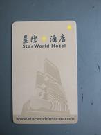 Starworld Hotel And CEG Privillege Club(casino), Macao - Casino Cards