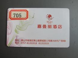 Mary Hotel, China, Corner Tiny Damaged - Casino Cards