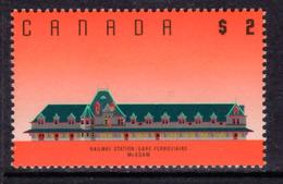 Canada 1988-93 Architecture Definitives $2 McAdam Railway Station, New Brunswick Value, MNH, SG 1278 - 1952-.... Reign Of Elizabeth II