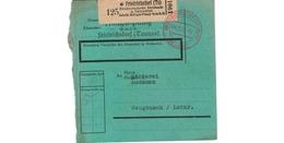 Allemagne  - Colis Postal De Friedrichsdorf - Milupa Fabrik  --  04/2/1943  -  Pour Sengbusch - Allemagne
