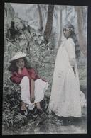 Tahiti Postcard. 24. Ile De Moorea (oceanie - Deux Belles Moreennes) - Tahiti