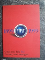 CENTO ANNI DELLA FIAT 1899 / 1999 - Motori