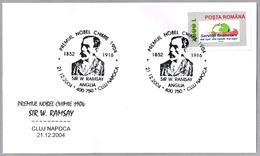 Sir WILLIAM RAMSAY. Premio Nobel De Quimica 1904. C.Napoca 2004 - Premio Nobel