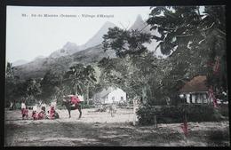 Tahiti Postcard. 51. Ile De Moorea (oceanie) Village D'Haapiti - Tahiti