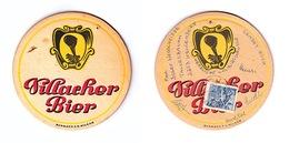 Sous-bock Bière Unique AUSTRIA Brauerei Villacher  Timbre 1972 Beer Mat Coaster Bierdeckel - Sous-bocks