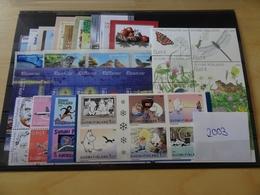Finnland Jahrgang 2003 Postfrisch Komplett (11979) - Finland