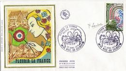 FDC 1er Jour : Fleurir La France 22/04/1978 N° 2006  Signé Pierrette LAMBERT - FDC