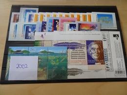 Finnland Jahrgang 2002 Postfrisch Komplett (11978) - Ganze Jahrgänge