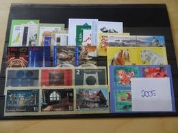 Finnland Jahrgang 2005 Postfrisch Komplett (11981) - Finland
