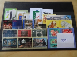 Finnland Jahrgang 2005 Postfrisch Komplett (11981) - Ganze Jahrgänge