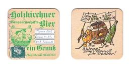 Sous-bock Bière Unique Brauerei Holzkirchen, Timbre 1986 Beer Mat Bierdeckel Coaster - Sous-bocks